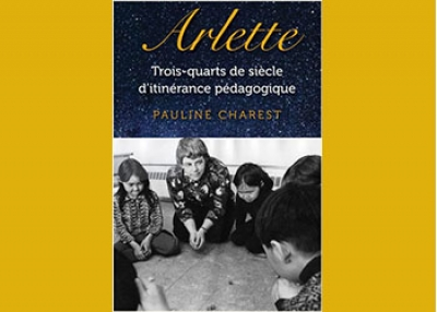 Pauline Charest : author of a new book