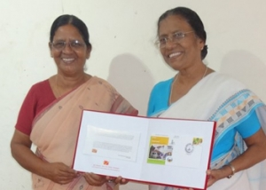 India Post release of OMMI postal cover and stamp for the Jubilee