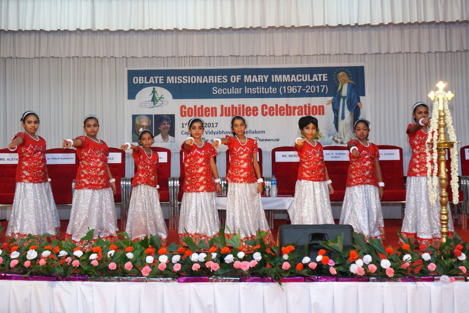 Celebration of the Golden jubilee – OMMI in India